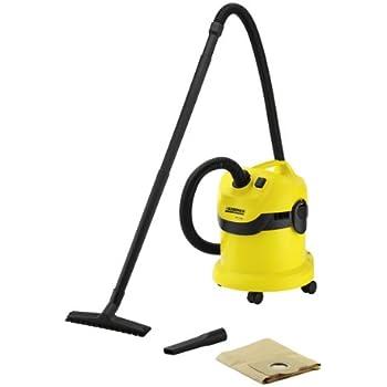 Kärcher WD 2.200 - Aspirador, 1200 W, 12 l, 370 x 340 x 430 mm, 4600 g, color negro y amarillo: Amazon.es: Hogar