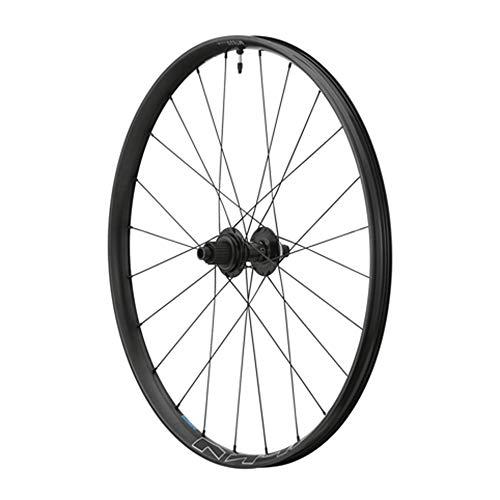 SHIMANO - Rueda para bicicleta de montaña 27.5' mt620 Disc Centrerlock trasero, 12 V Tubo negro tubeless eje cruzado 12-148 – Ancho de llanta exterior 34,5 mm