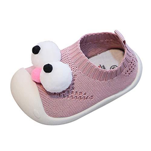 YWLINK Zapatos para Bebé 1-4 años Caminata Zapatillas Suela Suave Malla Transpirable Ligero Antideslizante CóModo Zapatos con Recorte De Dibujos Animados Lindo Zapatos Casuales para NiñOs PequeñOs