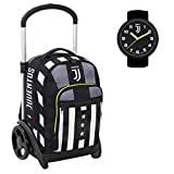 Juventus Trolley Sganciabile Tyre Seven - Winner Forever - Orologio Ufficiale Juventus in Omaggio