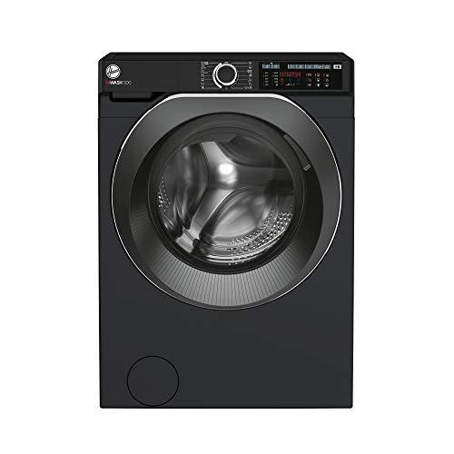 Hoover H-Wash 500 HW411AMBCB Freestanding Washing Machine, Large Capacity, 10 kg, 1400rpm, Black
