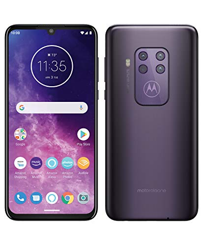 Motorola One Zoom - Smartphone 128GB, 4GB RAM, Dual Sim, Cosmic Purple