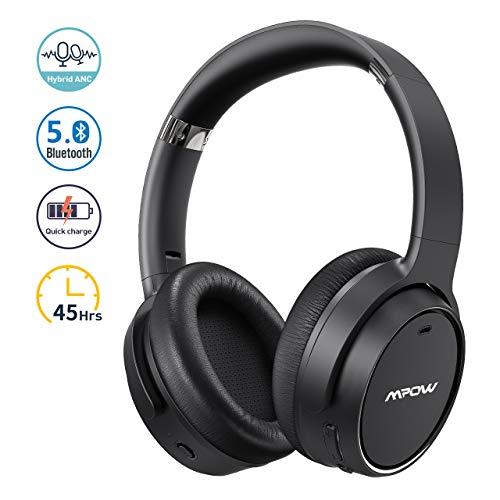 Mpow Hybrid Noise Cancelling Headphone H19, Bluetooth...