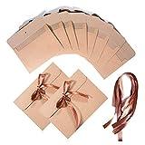 Vordas 30 Piezas Vintage Kraft Cinta Sobres, Ideal para Sobres de Acción de Gracias, Invitaciones, Tarjetas de Felicitación y Tarjetas de Navidad, etc, 17x12.4cm