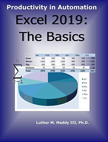 Excel 2019: The Basics (English Edition)