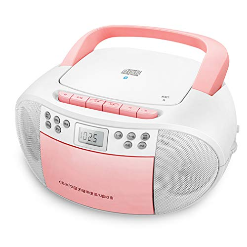 Retro Cassette RECORDER, Boombox CD-Speler, Bluetooth-Functie, FM-Radio, AUX IN Muziek Afspelen Van MP3-Spelers, Smartphones, Tablets