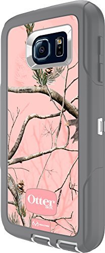 OtterBox Defender Series for Samsung Galaxy S6 - Retail Packaging - AP Pink (White/Gunmetal Grey with Pink AP Camo) - (Case Only - Holster Not Included)
