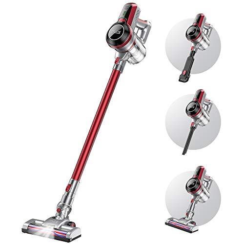 Muzili Vacuum Cleaner 20Kpa Powerful Suction Cordless Vacuum Cleaner 3 in 1...