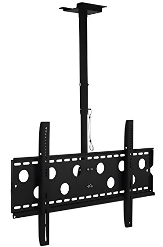 Mount-It! TV Ceiling Mount, Full Motion Height Adjustable Swivel...