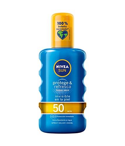 Nivea Sun Protege&Refresca Vaporisateur SPF50 Crème Solaire