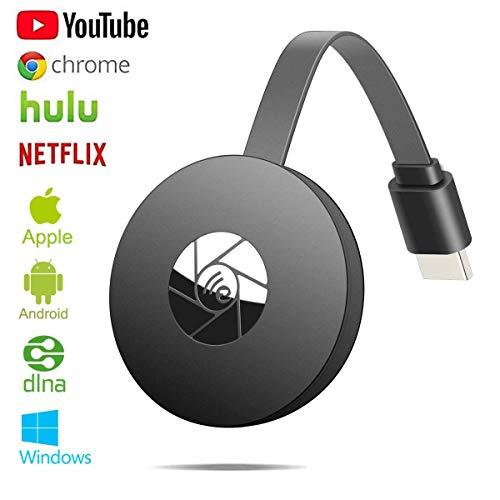 WiFi-Display-Dongle, kabelloser HDMI-Displayadapter, 1080P, TV-Empfänger, Adapter für großen Bildschirm, unterstützt Miracast DLAN Airplay, kompatibel mit i-OS/Android/Pixel/Nexus/Mac/Windows
