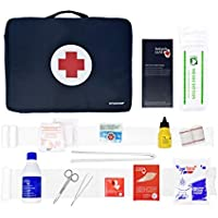 Botiquín Sans SPORT basic BOB30 - Kit deportivo de primeros auxilios, bolsa de nylon