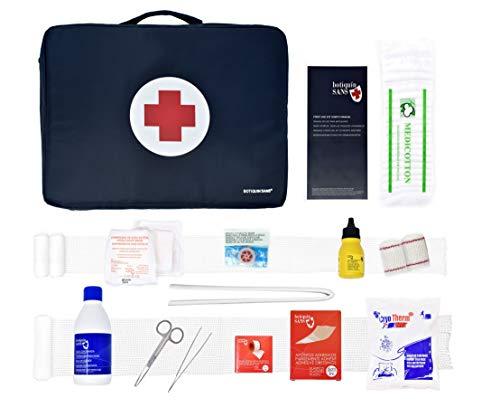 Botiquín Sans SPORT basic BOB30 - Kit deportivo de primeros auxilios,