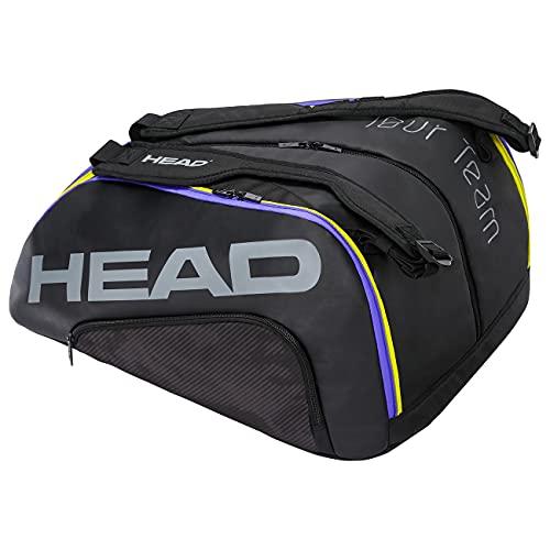 Head Tour Team Monstercombi Bolsa Tenis, Unisex-Adult, Negro, Largo-7 Palas de Padel