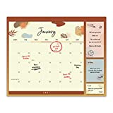 2021 Wall Calendar 12 Month – Magnetic Monthly Planner for Refrigerator with 3 Sizes of Sticky Notes - Thick Paper for Planning, Family and Home – November 2020 to December 2021, 12 x 16'