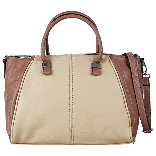 Gerry Weber Piano Shopper Handtasche Handbag Schultertasche 4080003085, Farbe:Nude