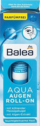 Balea Eye Cream Aqua Eye Roller with Seaweed Extract and Vitamin E Eye Treatment with Cooling product image