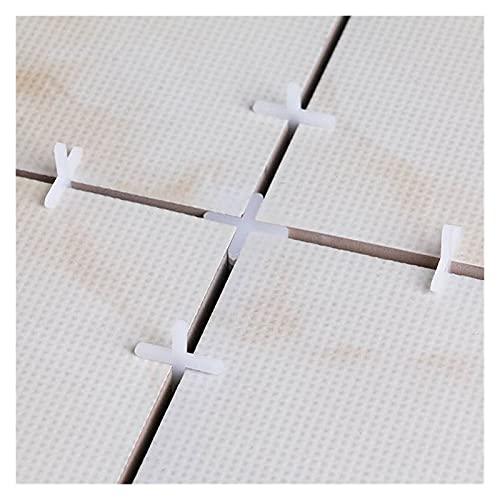 500 unids Cerámica Tiler espaciador Espaciador Tile Plumor Plumer Reusiable Nivelación Reutilizable Herramienta de decoración (3/1 / 1.5/2 / 2.5 / mm) (Color : 1.5mm)