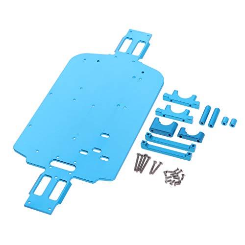 Homyl 1 Set Upgrade Metall Chassis Auto Bottom Für 1/18 RC Crawler Wltoys A949 A959 A969 A979 K929 A959-B
