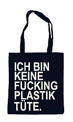 Jutebeutel keine fucking Plastiktüte