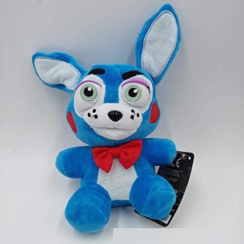 DINGX Plüschspielzeug Fünf Nächte bei Freddy S Bonnie Foxy Freddy Fazbear Bär Gefüllte Spielzeug Puppe Kinder Geburtstag 18cm Chuangze