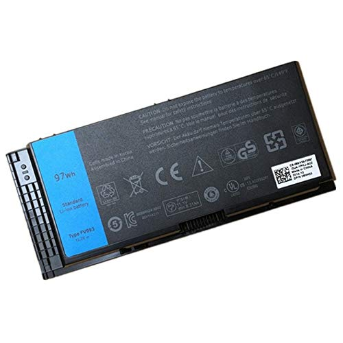 Szhyon Fit for 11.1V 97wh FV993 FJJ4W PG6RC R7PND OTN1K5 Laptop Battery Fit for DELL Precision M6600 M6700 M6800 M4800 M4600 M4700