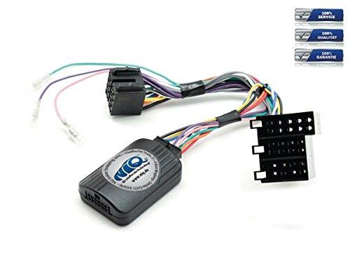 NIQ CAN-BUS Lenkradfernbedienungsadapter geeignet für SONY Autoradios, kompatibel mit Mercedes C Klasse (W203)