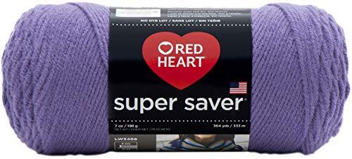 Red Heart Super Saver Yarn-Lavender