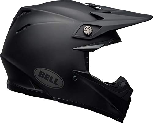Bell Helmets Moto 9 Mips, negro mate, talla XS