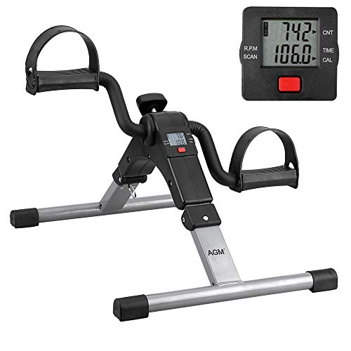 Pedal Exerciser Mini Exercise Bike Arm and Leg Exercise Peddler Machine