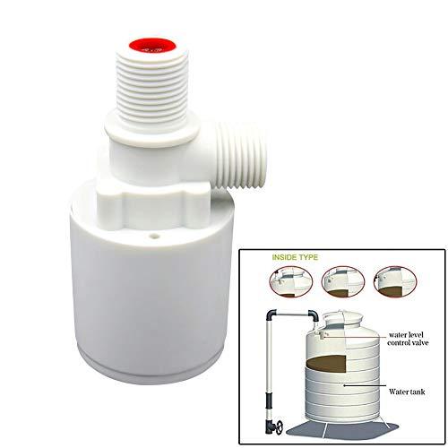 Válvula de bola flotante Válvula de flotador automática Válvula de control de nivel de agua F/Torre de agua del tanque de agua (G1/2 vertical)