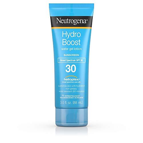 Neutrogena Hydro Boost Spf # 30 del gel di acqua crema solare 3 oncia (88ml) (6 pezzi)