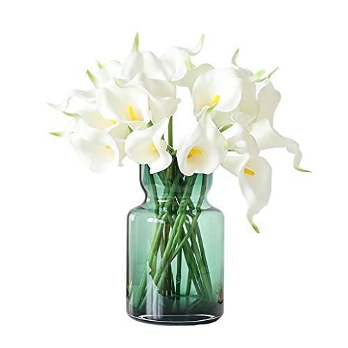 Flores Artificiales CALLA LILY SIMULATION FLOR FLOR FAKE FLOR INDOR...