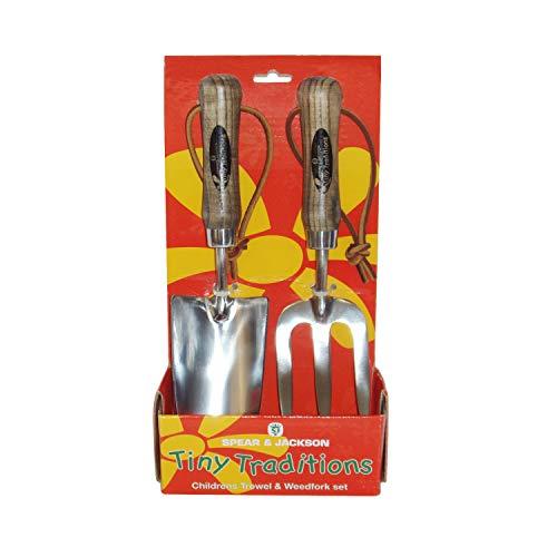 Spear & Jackson Traditional Truelle et Mini Fourche pour Enfants