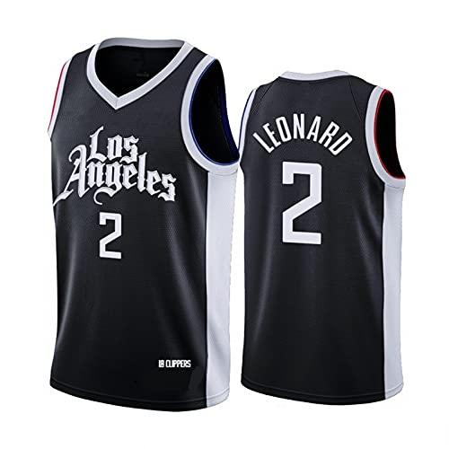 Comoda Maglia da Basket NBA, T-Shirt Ricamata Resistente all'Usura Traspirante n. 2, Stile Sportivo Senza Maniche Sleeve