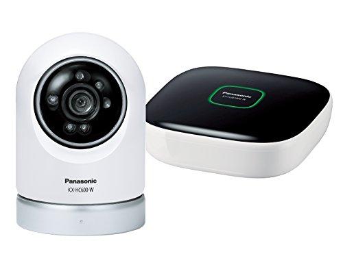 パナソニック 屋内スイングカメラキット KX-HC600K-W