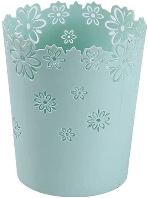 service Waste Recycling Plastic Don't miss the campaign Trash Can S Wastebasket Hollow Pattern