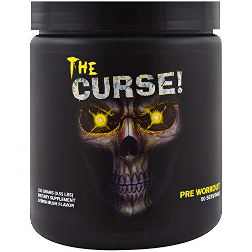 The Curse, pre-workout energy - 250g by Cobra Labs M (Lemon Rush)