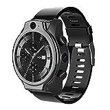 Coraggioso Pro 4 GB 64 Smart Watch Phone Android 10 4G LTE Globale GPS 1600 Mah 2 Macchina Fotografica 13MP IP68 5ATM Orologio Intelligente (A)