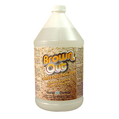 Brown Out Carpet Neutralizer and Stain Remover-1 gallon (128 oz.)