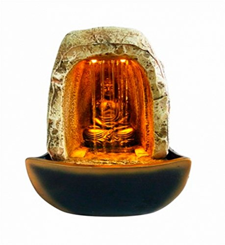 Dillards Fuente Buda Cueva Luz Ambar