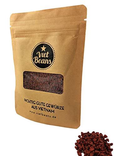 Annatto Samen - Achote Bixin Orlean Ruku Anatto - Zum Kochen oder als Färbemittel - 50g ganze Samen