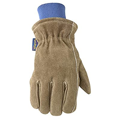 HydraHyde Insulated Split Leather Winter Work Gloves (Wells Lamont 1196)