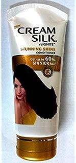 Cream Silk Conditioner 180 Ml - 6 Oz -Volume Up,strenght Boost,dandruff-free,damage Control,stunning Shine,standout Straight,brilliant Black (Stunning Shine)