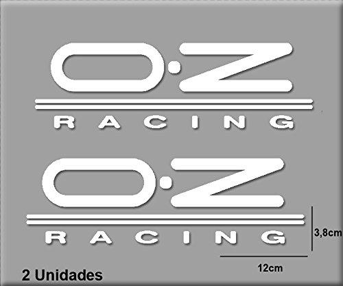 Ecoshirt SV-5O05-4157 Aufkleber Oz R127 Vinyl Aufkleber Decal Sticker Decal Decal Aufkleber Car Auto Sport Racing, Weiß