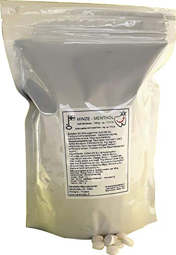 Xylitol Pastillen 1000 g aus Finnland (Kaffee)