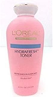 L'Oreal Paris P102-05 071249672044 Hydrafresh Toner Alcohol-Free, 1, Clear