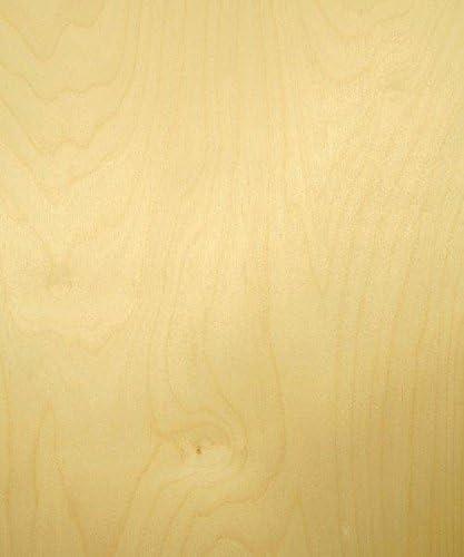 White Birch Wood Veneer, Rotary Cut, Premium Grade, 24