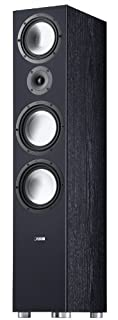 Sistema a 3 vie, bassreflex Potenza nominale 150 Watt, portata massima 320 Watt Due woofer da 200 mm, midrange da 180 mm, tweeter da 25 mm