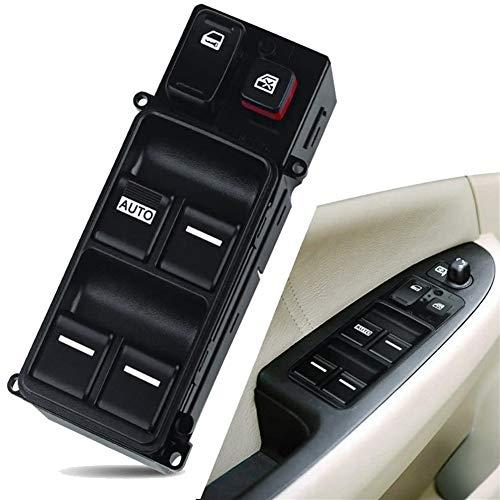 KUANGQIANWEI Botonera elevalunas Conductor de Coche Izquierda Elevalunas Lado del Interruptor en Forma for el Honda Accord 2003-2007 35750-SDA-H12 (Color : Black)